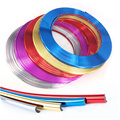 8m/lot Car-Styling Car Chrome Moulding Trim Strip For rim protection circle for vwfor mazda for hyundai or kia for ford