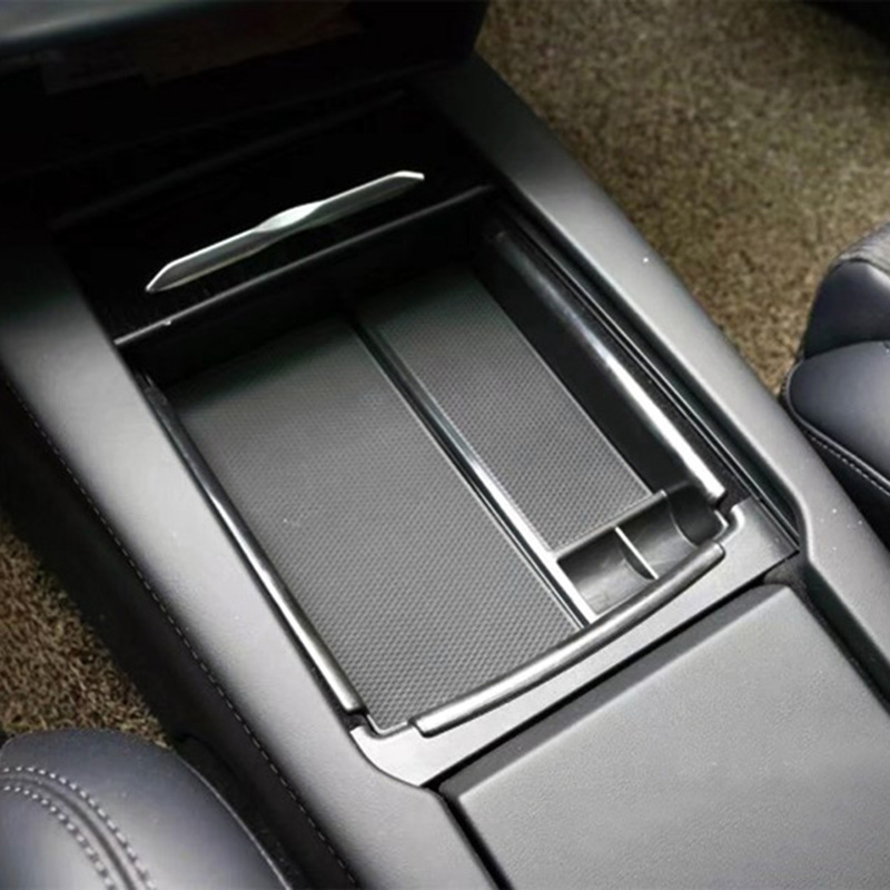 Armrest Storage Box Holder for Tesla Model S X Center Console Organizer Container Glove Tray 88 XR657