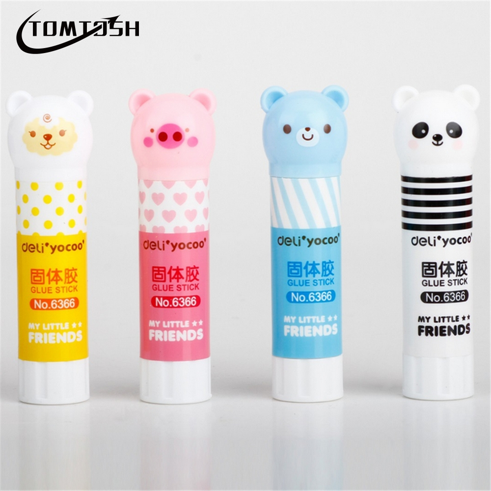 1 Pcs / Glue Stick Student High Viscosity Stick Paper Sticker Stationery Office Supplies 8.3 Cm X 2 Cm