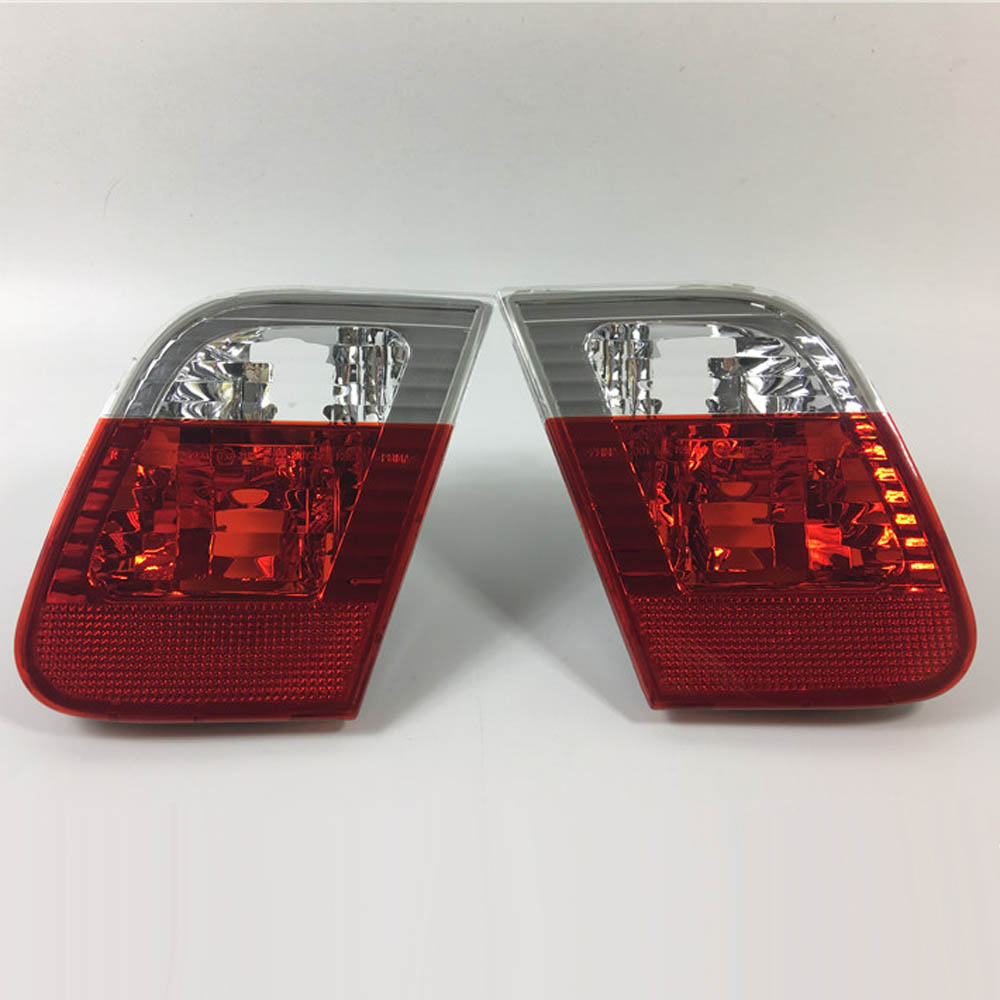 Rear trunk door lights lamps taillights assembly for BMW E46 318i 320i 323i 325i 328i 330i 3 series external Parts for bmw e36 318i 323i 325i 328i m3 carbon fiber headlight eyebrows eyelids 1992 1998