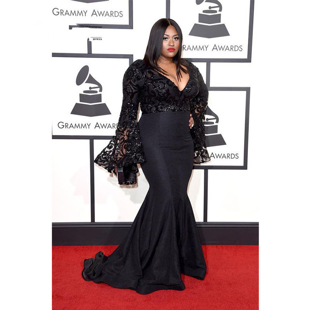 Plus Size Celebrity Dresses