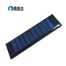 Xinpuguang 5pcs 0 2W 5V Mini Solar Panel Epoxy Resin DIY Module Monocrystalline Silicon Toy Car