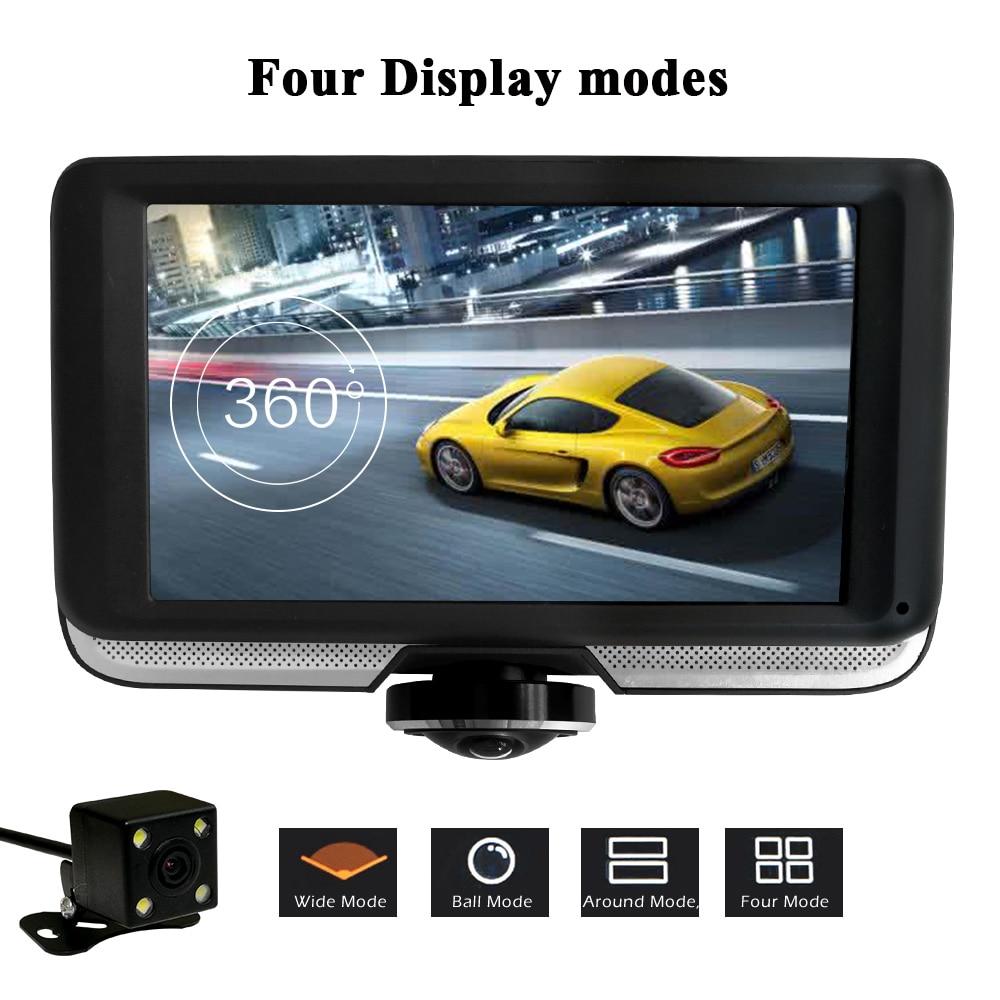 luturadar full hd 360 degree panoramic video recorder car dvr dash cam car accessories fisheye. Black Bedroom Furniture Sets. Home Design Ideas