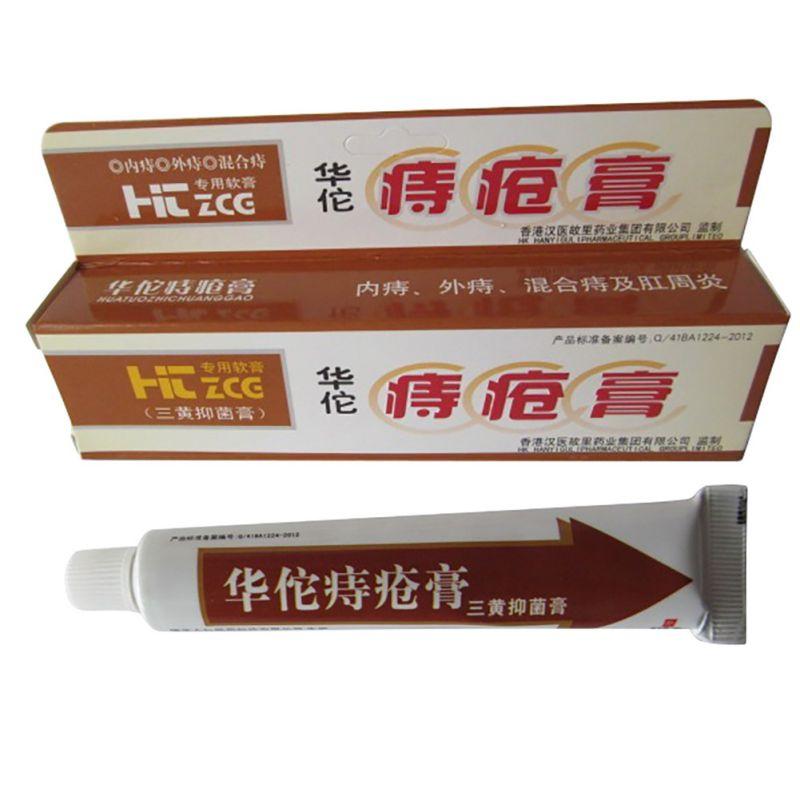 Китайская мазь для лечения геморроя huatuo