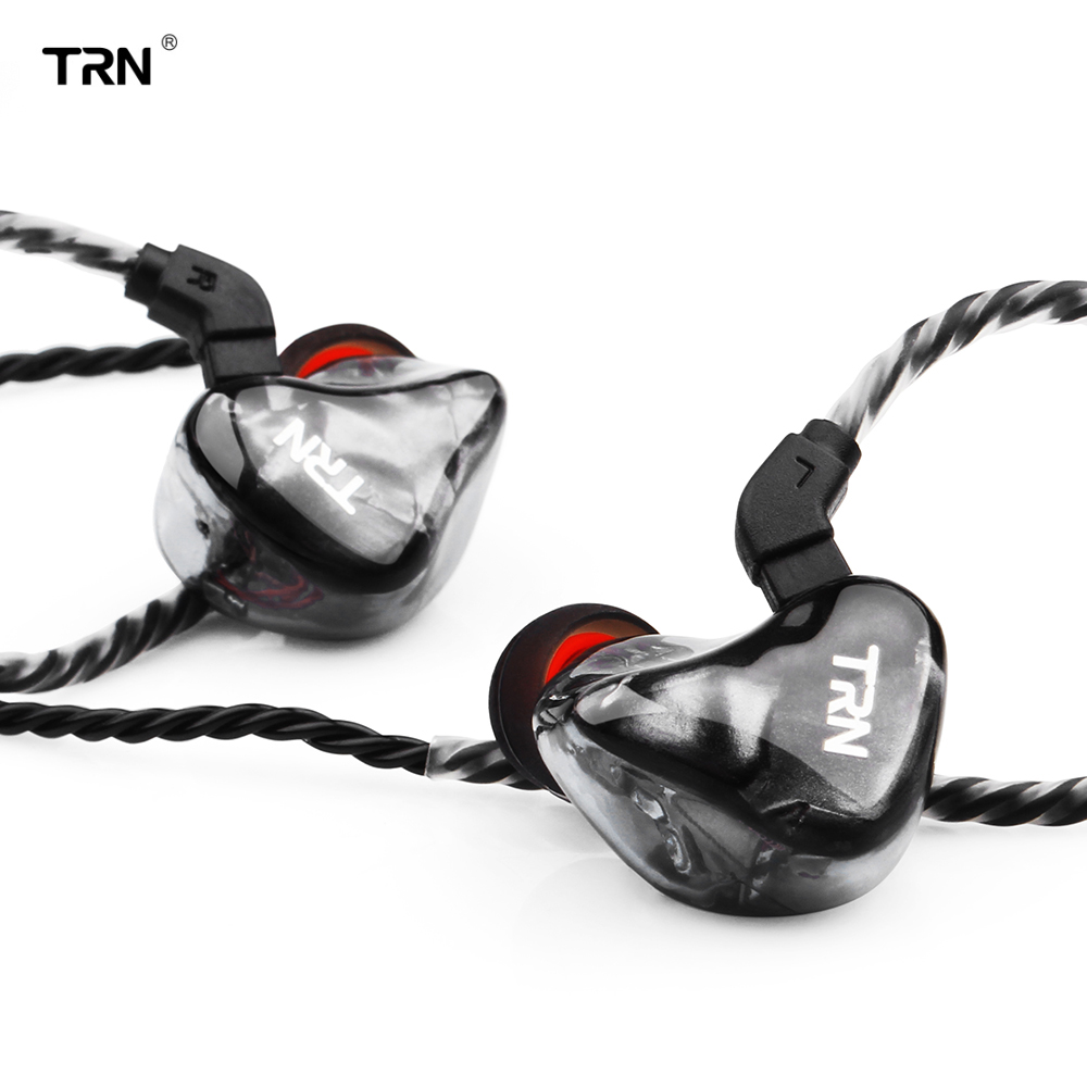 Newest TRN X6 6BA Driver Unit In Ear Earphone IEM 6 Balanced Armature HIFI Sports Running