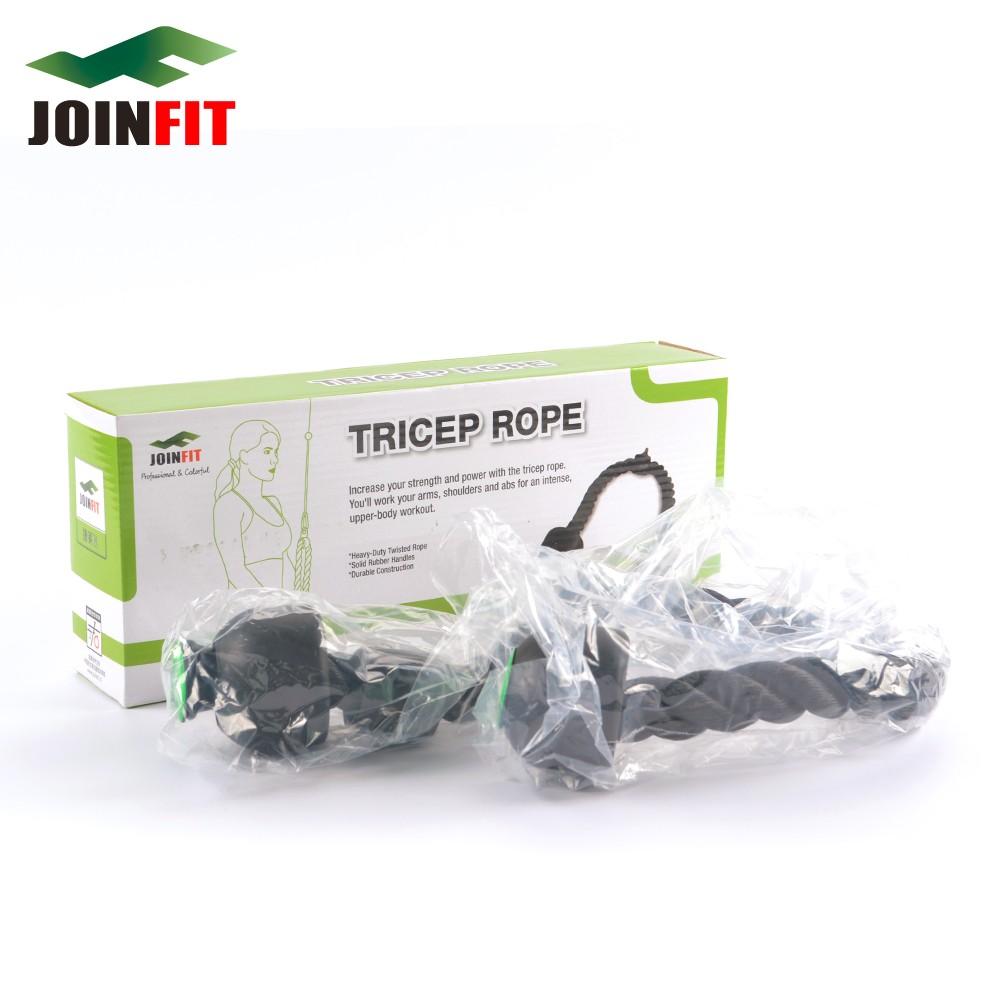 JOINFIT Schwere Trizeps erweiterung Seil/Nylon Seil Gummi Knoten ...