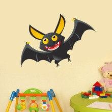 3D Cartoon Batman Wall Stickers Lovely Animal Vinyl Decal Art Mural Wallpaper For Boys Bedroom Diy Home Decor