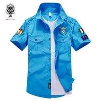JUEKELONG Brand 2018 New Men Fashion Casual Short Sleeve Pure Color Shirt Slim Fit Male Social