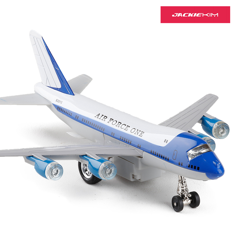 1 400 Diecast Metal Plane Model Toys 8 Air Force One Boeing 747