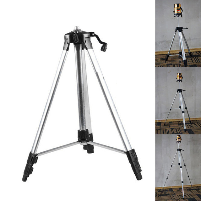 150cm 110cm Tripod Carbon Aluminum With 5/8 Adapter For Laser Level Adjustable