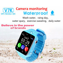 2017 Smart Baby watch V7K Q100 Children Security Anti Lost GPS 1.54″Screen with Camera SOS Call Smart baby watch VS Q100 Q90