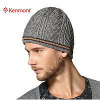 Kenmont New Fashion Brand Winter Ski Handsome Sports Wool Knit Beanie Men Hat For Holiday Gift 1177