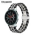 Ремешок для часов из нержавеющей стали для Samsung Galaxy Watch  20 мм  22 мм  42 мм  46 мм  SM-R810/R800  спортивный браслет с быстроразъемным ремешком