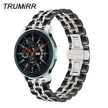 20mm 22mm Stainless Steel Watchband for Samsung Galaxy Watch 42mm 46mm SM R810/R800 Sports Band Quick Release Strap Wristband