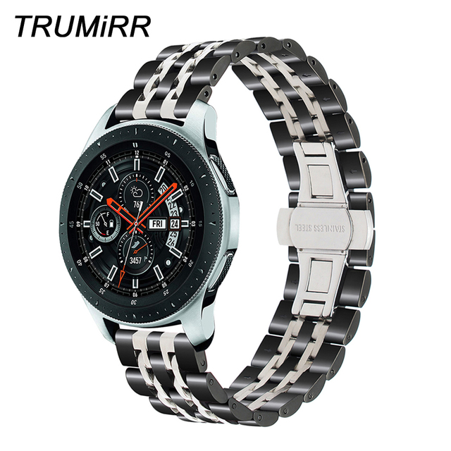 20mm 22mm Stainless Steel Watchband for Samsung Galaxy Watch 42mm 46mm SM-R810/R
