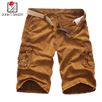 New Brand 2017 Mens Shorts Casual Bermuda Camouflage Compression Male Cargo Shorts Men Linen Fashion Men