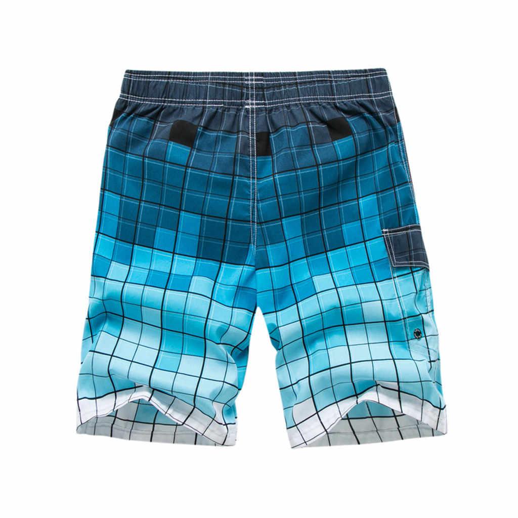 KLV 2019 nowy przyjazd mężczyźni spodenki do pływania Surf Board szorty letnie sportowe plażowe Homme bermudy krótkie spodnie szybkie pranie srebrny Boardshort #4
