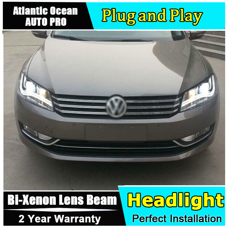 Auto Pro 2011 2015 For Vw Passat B7 Headlights Car Styling
