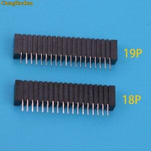 Image 1 - ChengHaoRan 10 stücke Flex Band Kabel Verbinden Port Leitfähigen Film Buchse 18pin Stecker Für Playstation 2 PS2