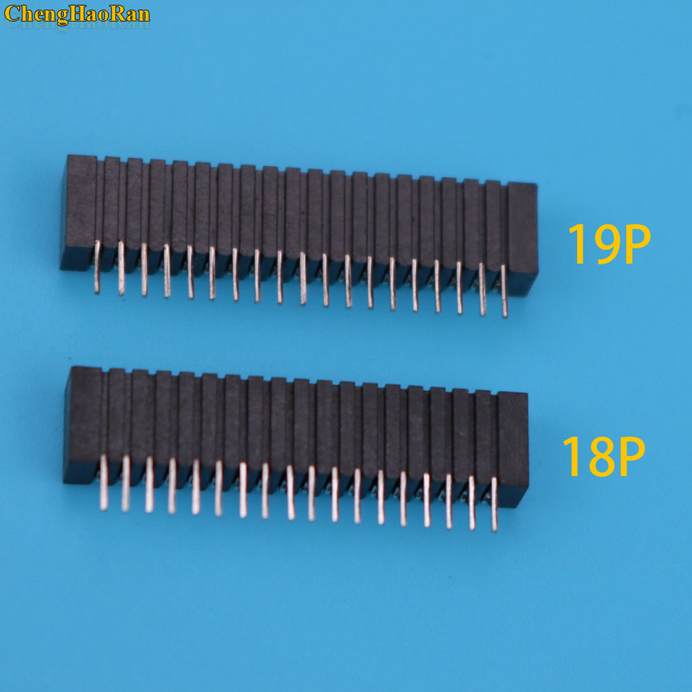 ChengHaoRan 10pcs Flex Ribbon Cable Connect Port Conductive Film Socket 18pin Connector For Playstation 2 PS2-in Replacement Parts & Accessories from Consumer Electronics