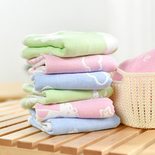2019 Hot Sale Hand Towel 100% Cotton Baby Bath Towel 25x50cm Face Towels Baby Care Wash Cloth Kids Hand Towel For Newborn(China)