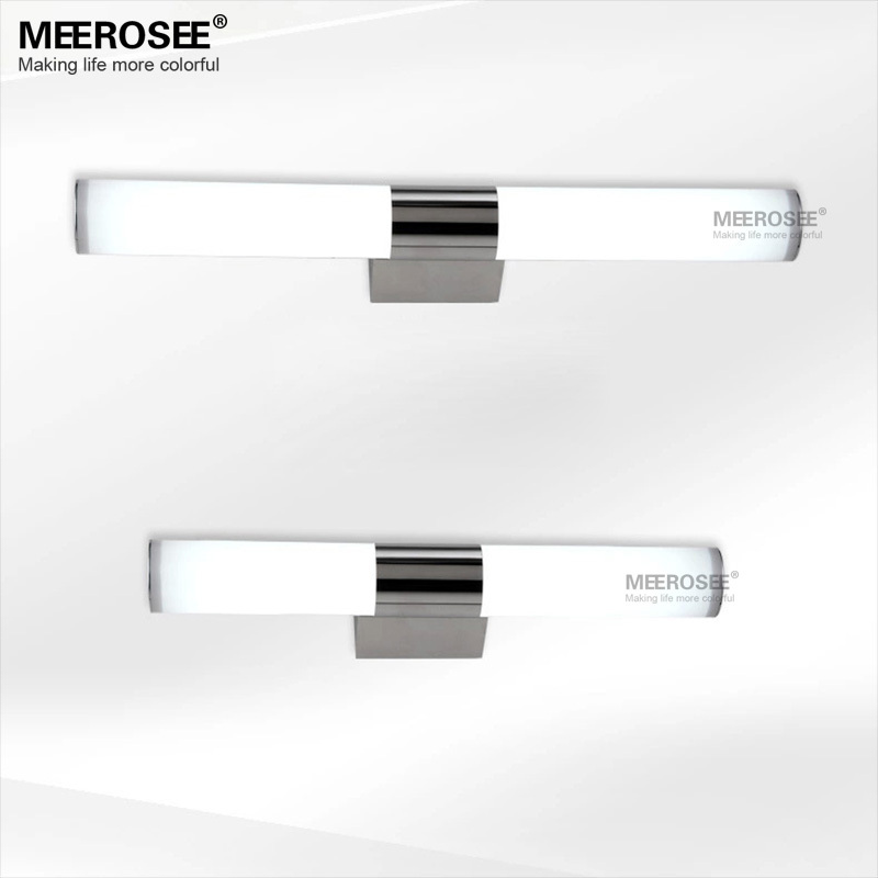 Modern Wall light 12W Acrylic restroom lighting LED Mirror wall lustre for Bathroom L540mm LED wall lamp 100% Guaranteed luxury modern white acrylic 12w led bathroom wall lamp mirror front fashion wall light showroom washroom wall lamp