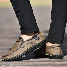 2019 New Men Casual Shoes Summer Comfortable Loafers Men Shoes Quality Leather Shoes Men Flats Zapatos Moccasins Big Size 38-48 vancat big size 38 47 new fashion casual shoes men lace up flats summer comfortable handmade driving moccasins men shoes