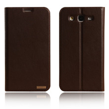 Cover Case For Samsung Galaxy Mega 5.8 i9150 GT i9152 i9158 P709 Natural Genuine Leather Flip Stand Mobile Phone Bag + free gift
