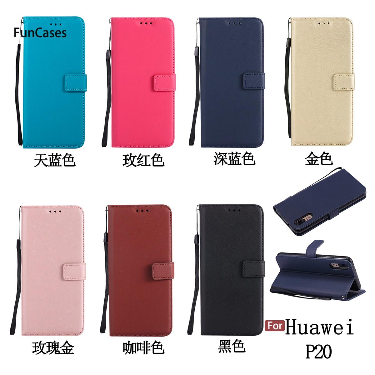 Newest PU Leather Case sFor Ajax Huawei P20 Bracket Case Wonderful Squishy Back Cover For Huawei Ascend P20 Plastic Funda Pho Ne