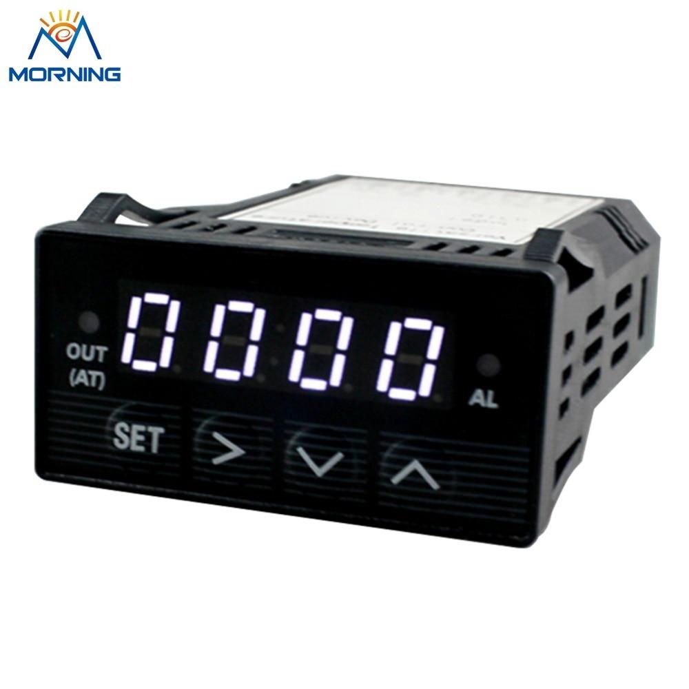 XMT7100 DC 24V Mini Panel microcomputer Thermostat Regulator Size 48*24mm  LED white Digital Display Temperature Controller xmt digital display adjusting instrument xmtd 1301