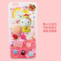 3D Chicken Hello Kitty Resin Candy Cabochons Whipped Cream Case For Samusng Note 5 4 Case