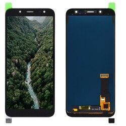 5.6 cala dla Samsung Galaxy J6 2018 J600 SM J600F J600F/DS J600G/DS wyświetlacz LCD i montaż digitizera ekranu dotykowego wymiana w Ekrany LCD do tel. komórkowych od Telefony komórkowe i telekomunikacja na