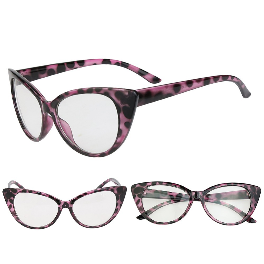 58a688182ebf 2017 Hot Fashion Retro Sexy Women Eyeglasses Frame Cat Eye Clear Lens lady  Eye Glasses Drop Shipping l1-in Sunglasses from Apparel Accessories on ...