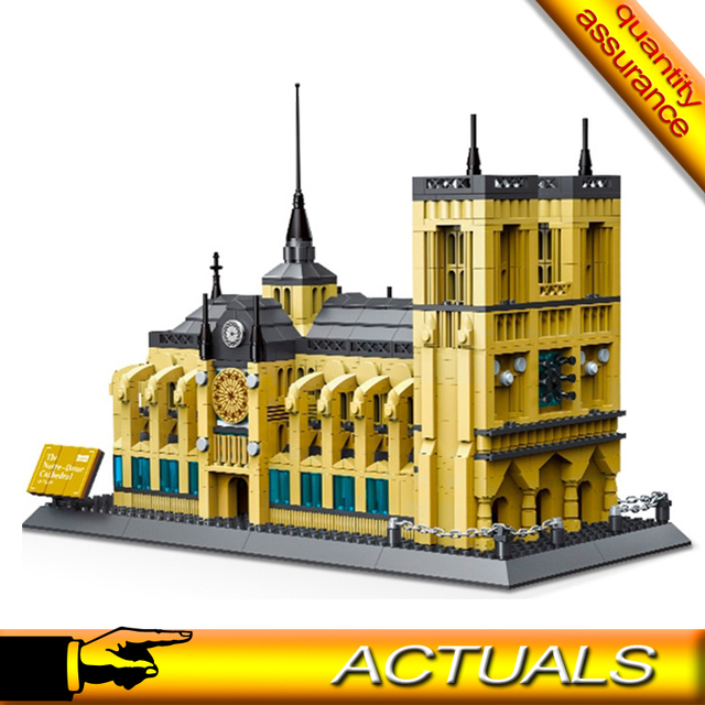 5210 Creator Building Block Architecture Notre Dame Cathedral Of