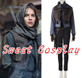 High Quality Rogue One A Star Wars Story Jyn Erso Costume Adult Women full set Halloween Cosplay Costume