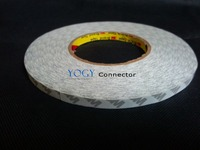 1x 14mm 50 Meters High Performance Non Woven Double Coated Tape For LED Strip Adhesive Bonding