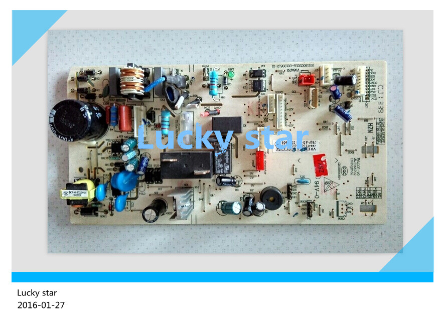 95% new for Haier Air conditioning computer board circuit board KFR-35G/CCA22A 0011800301 good working 95% new used original for midea air conditioning board frequency board kfr 35g dy gc e1 circuit board