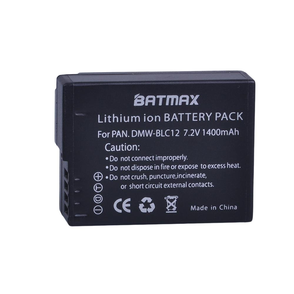 Alta capacidad de DMW-BLC12 dmw blc12e DMCBLC12 BLC12 batería para Panasonic FZ1000... FZ200... FZ300... G5... G6... G7... GH2... DMC-GX8