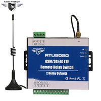 GSM 3G 4G SMS Remote Relay Switches 2 Relay Outputs For Remotely Switch ON OFF Devices