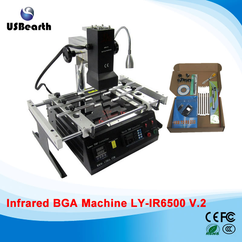 LY IR6500 v.2 BGA Rework Station reballing machine for motherboards, free tax to RUSSIA compatible toner powder xerox 6121 printer toner refill powder for xerox phaser 6121 printer bulk toner powder for xerox c6121