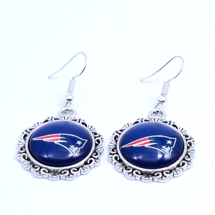 patriots earrings earrings new patriots charms dangle earrings sport 7843