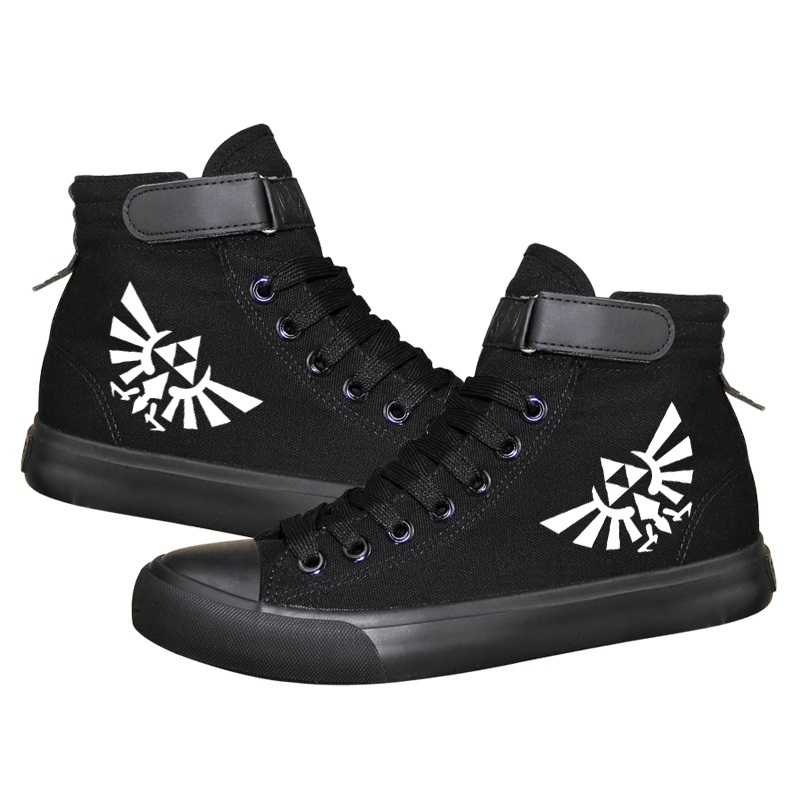 Zelda cosplay Canvas Shoes