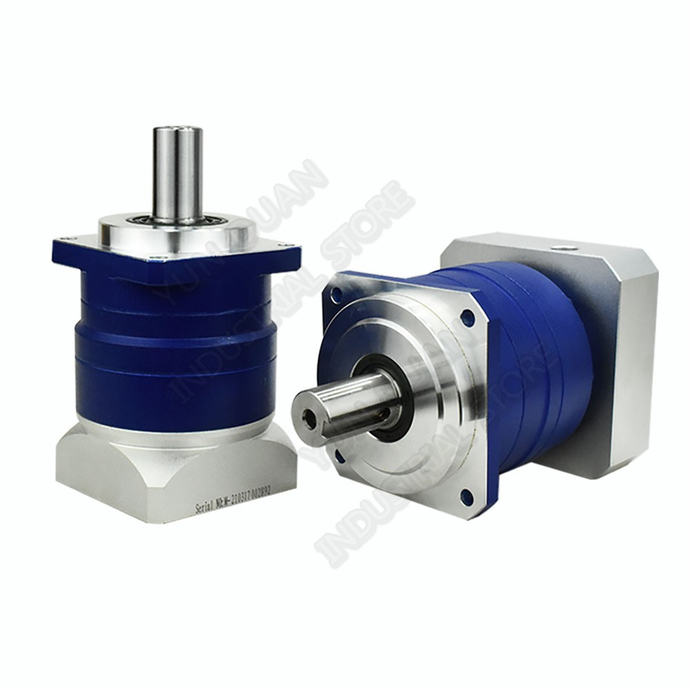 60mm Flange 100 1 Speed Ratio 100 Helical Gear Planetary Reducer Gearbox Reducer for NEMA24 200W