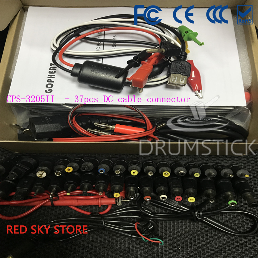Redsky CPS 3205 CPS 3205II 0 30V 32V Adjustable DC Switching Power Supply 5A 160W SMPS