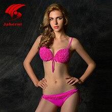New Bikini Set 2017 Women Floral Bikinis Sexy Push Up Swimsuit Trikini Low Waist Swimwear Beach Bathing Suit Maillot De Bain Pad