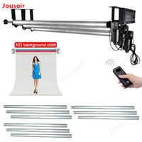 Equipo de Estudio fotográfico montaje de pared/techo motorizado Fondo eléctrico sistema de soporte de fotografía CD15
