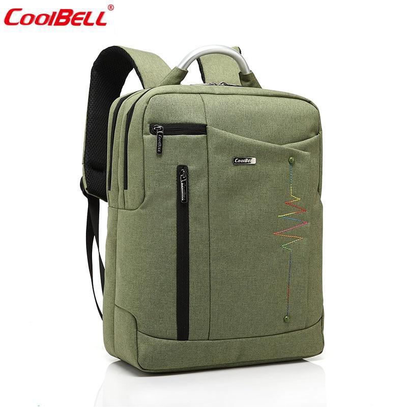 ФОТО Female and Male Waterproof Zip Bags Student School Back pack Bag Women Computer Laptop Bag Men's Nylon Business Backpack 6006