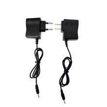 3.5 มม.ไฟฉาย AC Charger Universal EU US Plug Home Wall Charger สำหรับอะแดปเตอร์ชาร์จ 18650 แบตเตอรี่ไฟฉายไฟหน้า