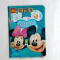 Cartoon Mickey And Minny Capa Passaporte ID Card Holder PVC Leather 3D Design Business Card Bag Passport Cover 14*9.6CM