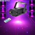 Eshini мини красный синий лазер 8 рождественских шаблонов проектор танцевальный диско-бар семейная Вечеринка DJ Освещение сцены шоу T168D2